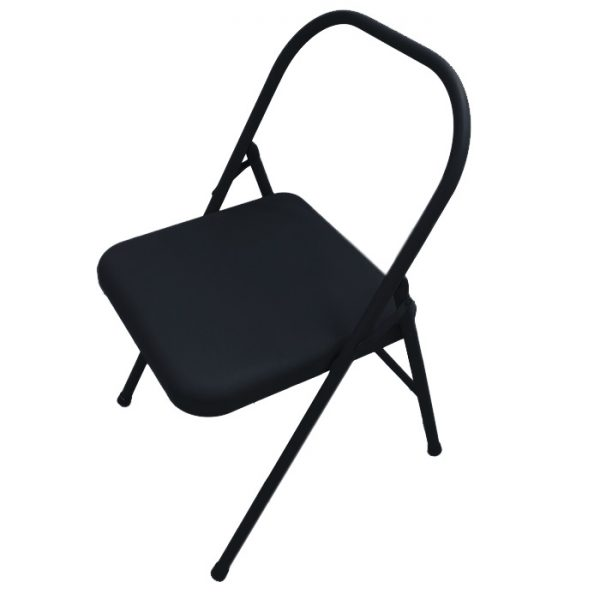 Silla para yoga color negro