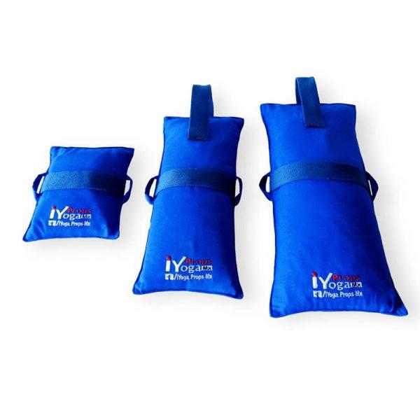 Bolsa de arena para yoga, pilates, ejercicio.